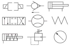 Hydraulic Schematic Symbols Chart Hydraulic Circuit Symbols Hydraulic Valve Symbols Chart