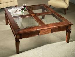 Coffee Table, Coffee Table With Glass Top Display Several Ideas Of Glass  Coffee Table That ...