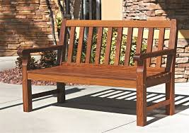 Small Picture Creative of Garden Furniture Wooden Bench Double Chair Bench With