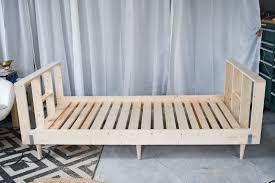 finished daybed frame