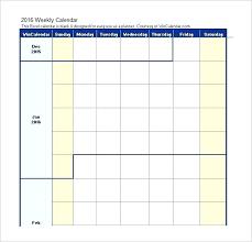 Class Schedule Excel Template Download Excel Weekly Schedule Template Youcanwin Club