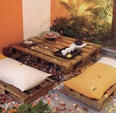 japanese patio furniture. Pallet Japanese Style Table And Seating Patio Furniture D