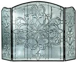 bronze fireplace screen with doors wazee oil rubbed panel brushed small bronze fireplace screen and tools uniflame ginkgo bronze fireplace screen layton