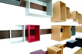 wall box shelves wood boxes shelf contemporary design using the floating living ikea wall box shelves