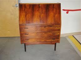 hjn mobler rosewood secretary desk