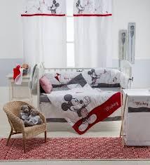 minnie mouse 4 piece crib bedding set