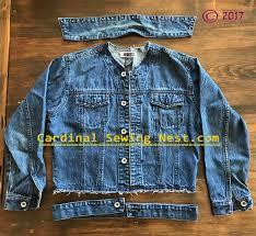 upcycle your denim jacket