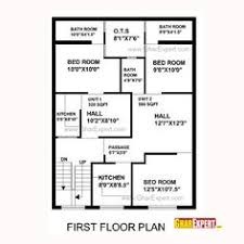 house plan for 32 feet by 40 feet plot plot size 142 square yards