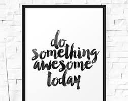 Small Picture Awesome quote Etsy