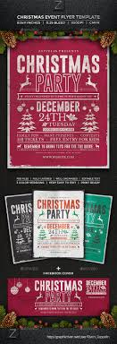 christmas event flyer template christmas holiday events flyer templates from graphicriver page 40