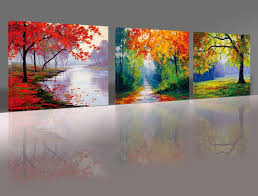 most up to date nuolan art canvas prints 3 panel wall art oil