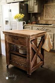30 Rustic DIY Kitchen Island Ideas Iu0027ll Find A Home For One Of These