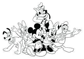 Free Mickey Mouse Clubhouse Coloring Pages At Getdrawingscom Free