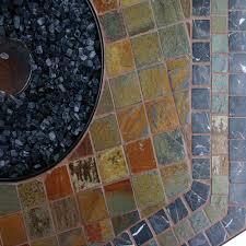 Blue Rhino Propane Gas Slate Fire Pit Table