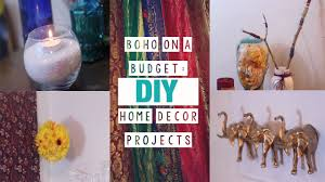 Small Picture 5 Boho Chic Easy Room Decor DIYs YouTube