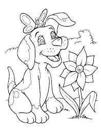 Cat Coloring Sheets Printable Free Dog And Cat Coloring Pages