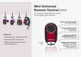 liftmaster 374ut universal keychain remote
