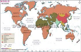 Taoism Life Chart World Religion Map