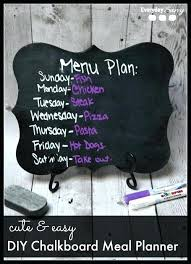 Chalk Board Menu Board Chalkboard Menu Board For Home Template With Metal Stand
