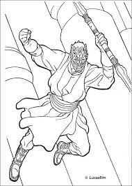 Small Picture Darth maul coloring pages Hellokidscom