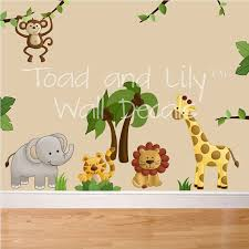 wall art design ideas destination products jungle wall art for  on safari themed nursery wall art with exelent jungle nursery wall art ensign wall painting ideas