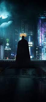 1125x2436 Neon Gotham Batman 4k Iphone ...