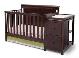 All In One Crib Baby Crib With Attached Changing Table Decoration