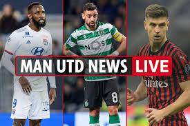 6pm Man Utd transfer news LIVE: Piatek and Bruno Fernandes ...