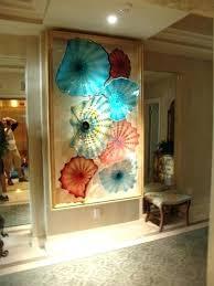 glass wall art glass blown glass wall art blown glass flowers wall art