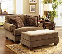 chair and a half with ottoman slipcover