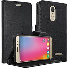 clico luxury premium mercury wallet card dairy slot style flip cover patible for lenovo volte a6600 a6600 plus 5 screen