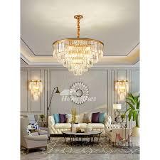 crystal pendant lights classic luxury