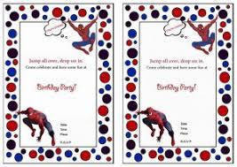 Spiderman Birthday Invitation Templates Free Free Printable Spiderman Birthday Invitations Free