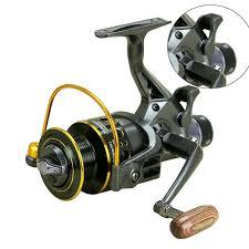 <b>Fishing Reel Double</b> Brake Front and Rear Drag reels Carp Fishing ...