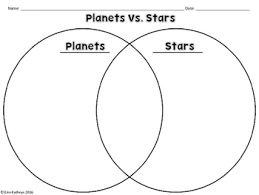 Venn Diagram Of Planets Stars And Planets Comparing Contrasting Sorting Activity