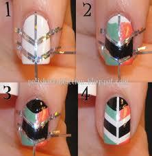 easy diy nail art tutorial