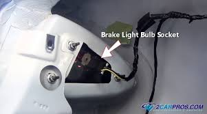how to fix brake lights in under minutes grasp the bulb socket and twist firmly counterclockwise this will allow the socket to come loose from the lens sometimes they can be a little stuck in
