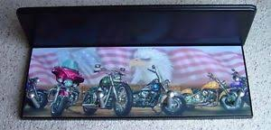 Harley Davidson Coat Rack Harley Davidson Motorcycles Wall Shelf Coat Rack Black Pegs EBay 80