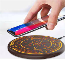 10w Magic Array Lighting Wireless Charger Us 39 99 30 Off Magic Array Lighting Wireless Charger 10w Universal Qi Wireless Fast Charging Pad For Iphone X Samsung S8 Huawei Mate 20 Pro In