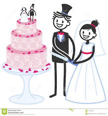 cutting the wedding cake clipart. Fine Clipart Download Vector Illustration Of Cute Stick Figures Bridal Couple Cutting  Wedding Cake Stock  With The Clipart