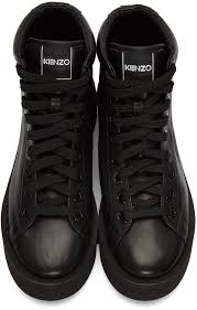 kenzo black leather high top sneakers women kenzo sweater kenzo t shirt