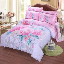 2017 luxury best quality 100 cotton chinese style 3d duvet cover sets 3d flower bedding