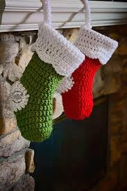 Crochet Christmas Stocking Pattern Cool Ravelry Chunky Christmas Stocking Pattern By Phanessa Fong