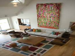 image of living room area rugs contemporary