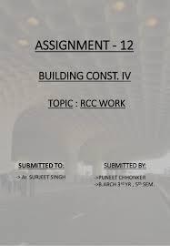 Rcc Column Design Ppt Rcc Elements Column Beam