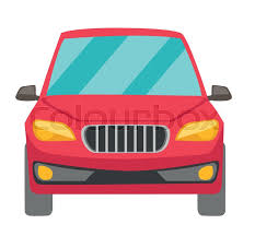 car white background front. Brilliant Car Red Car Front View Vector Cartoon Illustration Isolated On White  Background Vector With Car White Background I