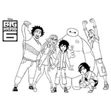 Small Picture Top 25 Big Hero 6 Coloring Pages