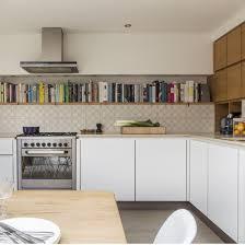 Kitchen Book Shelf Plain Pertaining To Kitchen
