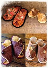 free pattern for fabric slippers | Pitter Patters | The Fabric ... & free pattern for fabric slippers | Pitter Patters | The Fabric Shopper Adamdwight.com