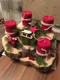 Adventskranz Weihnachtsdekoration Weihnachtskerzen Und